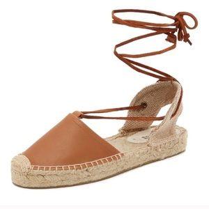 NWOT Soludos Gladiator Platform Lace Up Sandal